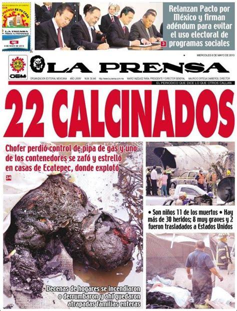 Periódico La Prensa  México . Periódicos de México ...