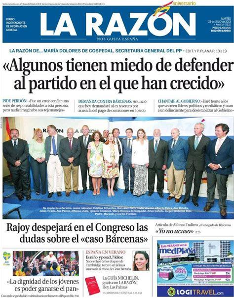 Periodico La Razón - 23/7/2013