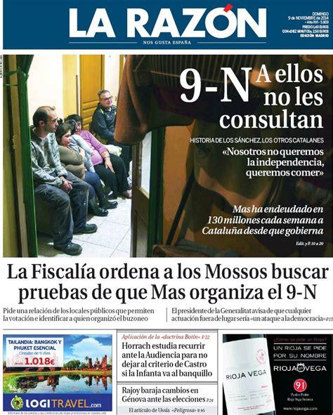 Periodico La Razón - 9/11/2014