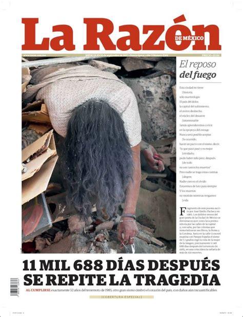 Periódico La Razón  México . Periódicos de México. Edición ...