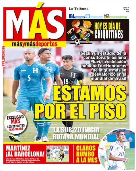 Periódico La Tribuna Deportiva (Honduras). Periódicos de ...