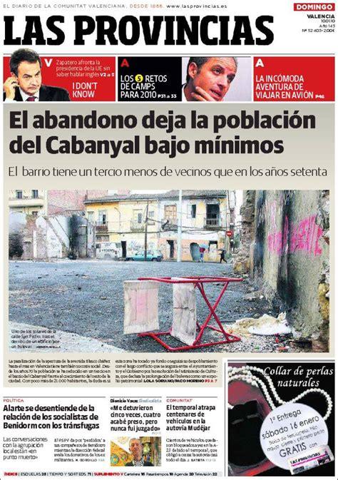 Periódico Las Provincias (España). Periódicos de España ...