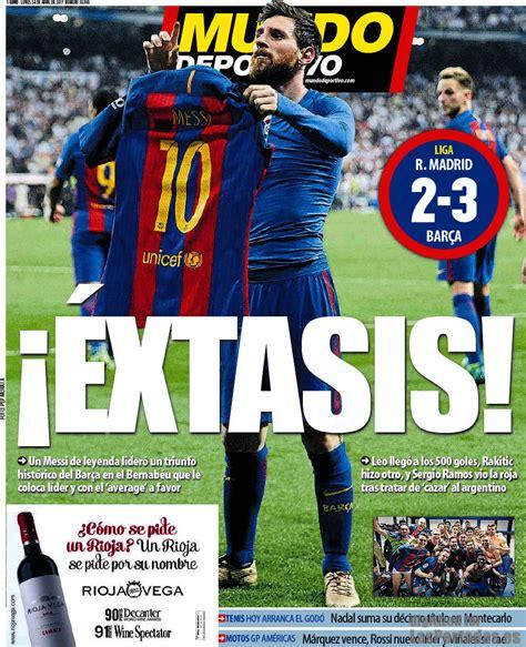 Periodico Mundo Deportivo   24/4/2017