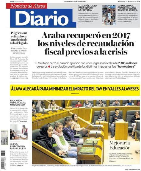 Periódico Noticias de Álava (España). Periódicos de España ...