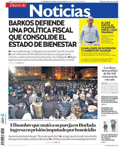 Periódico Noticias de Navarra (España). Periódicos de ...