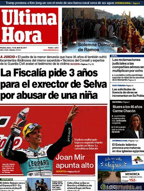 Periodico Última Hora - 10/4/2017