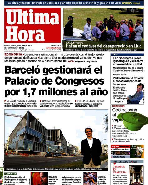 Periodico Última Hora   11/4/2015