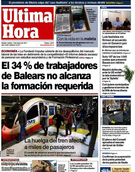 Periodico Última Hora - 7/3/2017