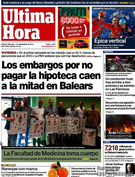 Periodico Última Hora - 7/9/2016