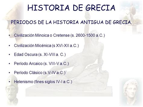 PERIODOS DE LA HISTORIA ANTIGUA DE GRECIA. - ppt descargar
