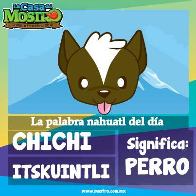 Perro en nahuatl | Náhuatl... | Pinterest | Idiomas ...