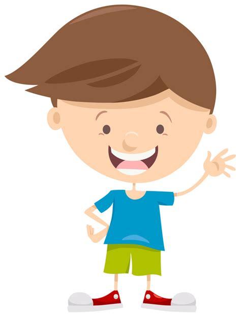 Personaje de dibujos animados de niño pequeño | Descargar ...