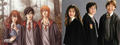 Personajes de Harry Potter   Libro Vs. Película   •Harry ...