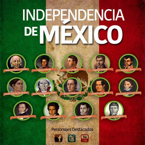 Personajes Destacados de la Independencia de México ...