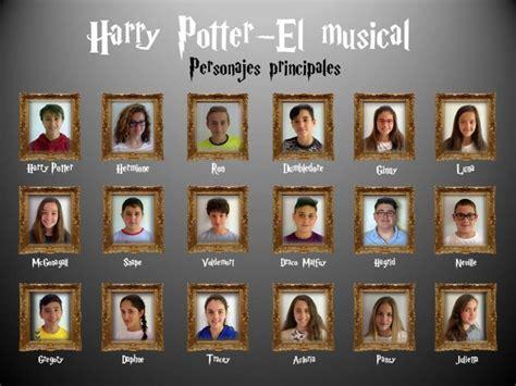 Personajes principales del musical de