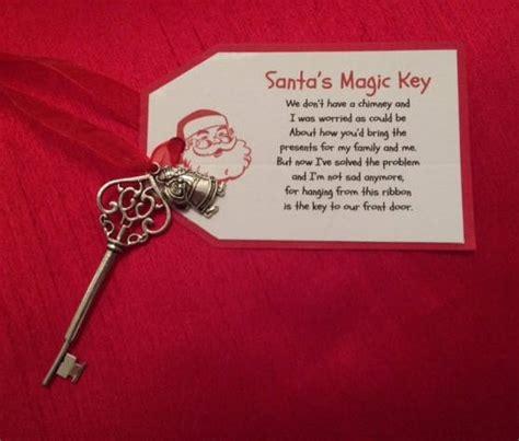 Personalised Santa's Magic Key Personalized Santa's