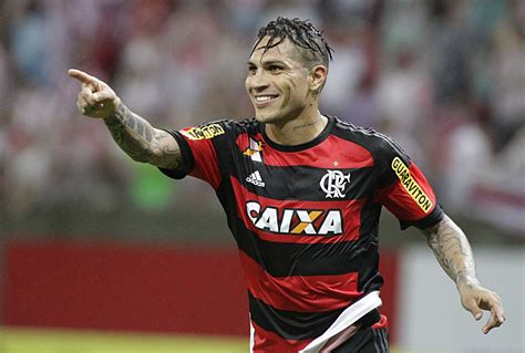 Peru s Paolo Guerrero appears in Flamengo s PES 2016 Game ...