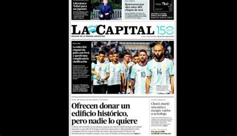 Perú vs. Argentina: Estás son portadas de los diarios ...