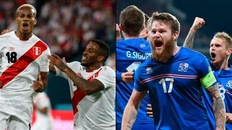 Perú vs. Islandia EN VIVO ONLINE: canales y horarios del ...