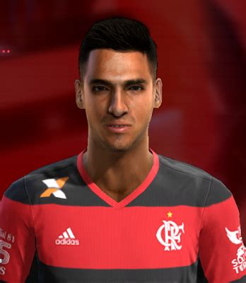 PES 2013 Miguel Trauco (Flamengo) by FB Facemaker - PES Patch
