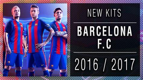 PES 2013 | New Kits • Barcelona F.C • 2016 / 2017 • HD ...