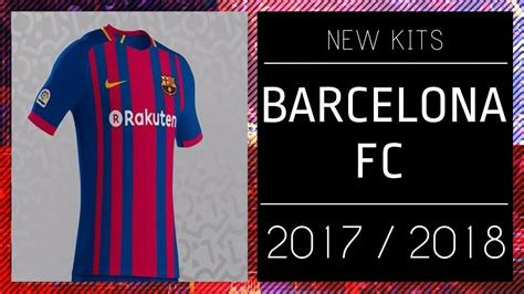 PES 2013 | New Kits • Barcelona F.C • 2017 / 2018 • HD ...