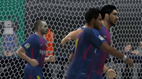 PES6 Barcelona vs Real Madrid USA tour 2017 Miami   YouTube