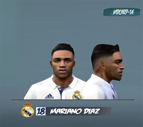PES6 Mariano Diaz Face by MDCARP 14   PES Patch
