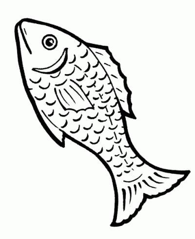 Pescado de abril para colorear - Dibujos para pintar ...