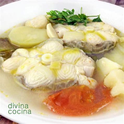 Pescado en blanco - Divina Cocina