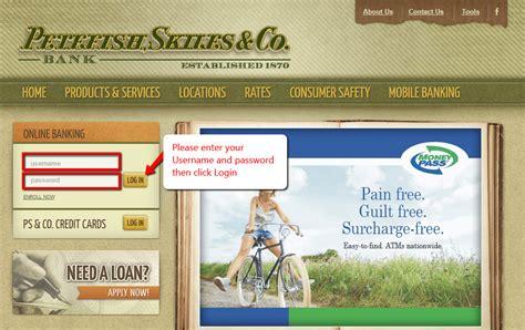 Petefish, Skiles & Co. Bank Online Banking Login - CC Bank