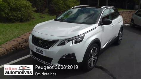 Peugeot 3008 Griffe Pack 2019   Detalhes ...