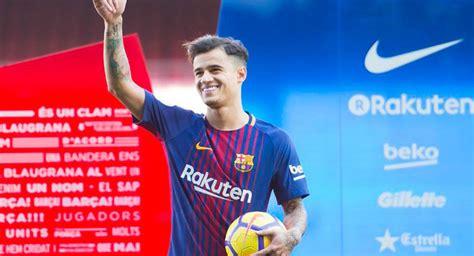 Philipe Coutinho fue presentado como nuevo jugador del ...