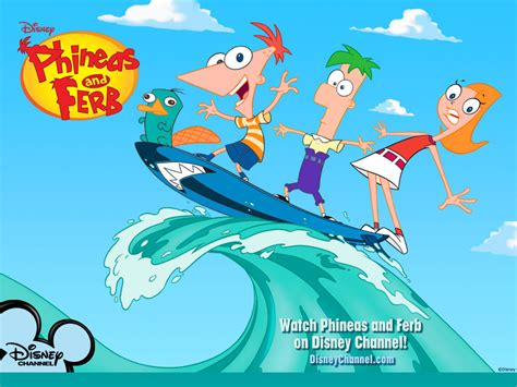 Phineas and Ferb   Phineas and Ferb Wallpaper  4039536 ...
