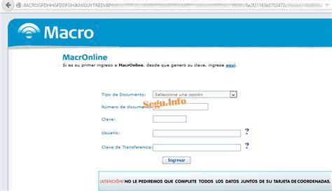 Phishing a Bancos CrediCoop, Galicia, Macro, Santander y ...