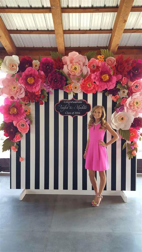 Photocall de flores para cumpleaños, graduaciones o boda ...