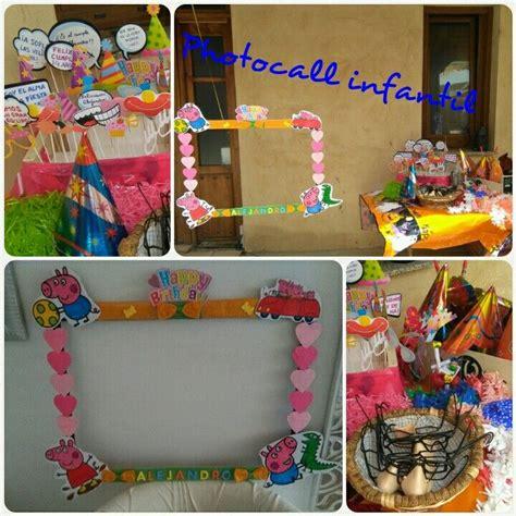 Photocall infantil casero para fiesta de cumpleaños | Diy ...