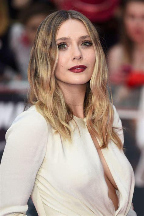 PHOTOS Elizabeth Olsen à la première de  Captain America ...