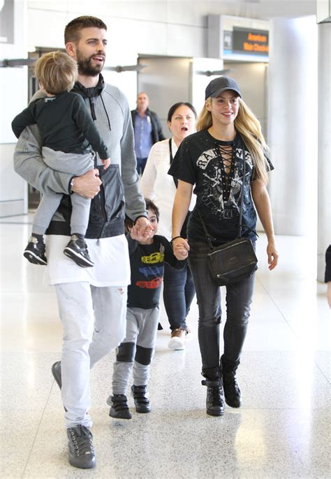 PHOTOS - Shakira's Glad To Be Home! Singer Is All Smiles ...