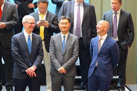 Photos: Tim Cook, Satya Nadella, Jeff Bezos and Mark ...
