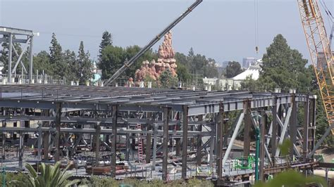 PHOTOS, VIDEO: Star Wars Land Construction Update at ...