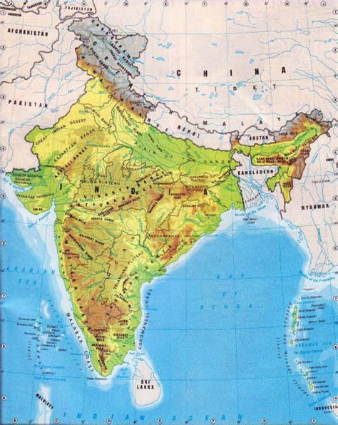 Physical Geography of India images