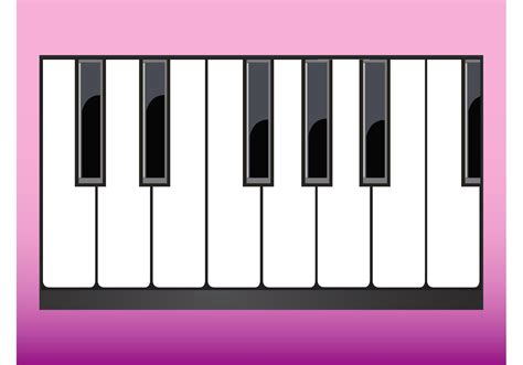 Piano Keys - Download Free Vector Art, Stock Graphics & Images