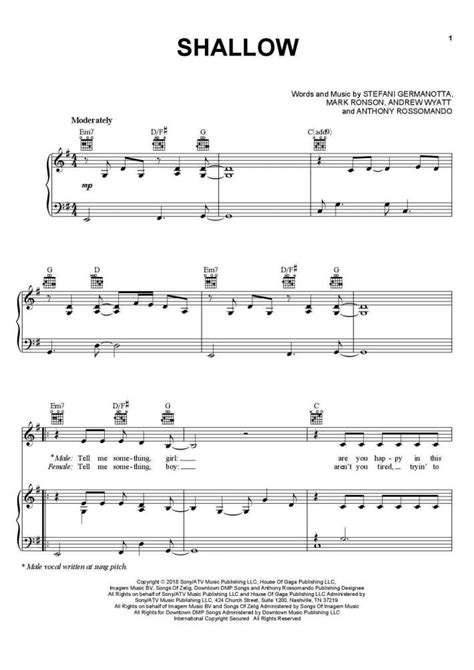 Piano Sheet Music - Piano Sheets for Popular Songs ...