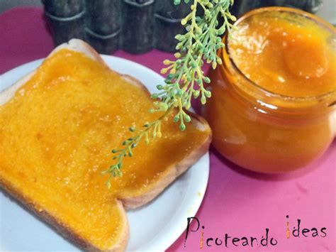 Picoteando ideas | Mermelada de naranja con zanahoria