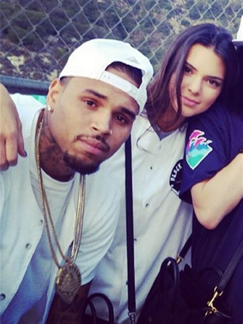 [PICS] Chris Brown Flirting With Kendall Jenner Again ...