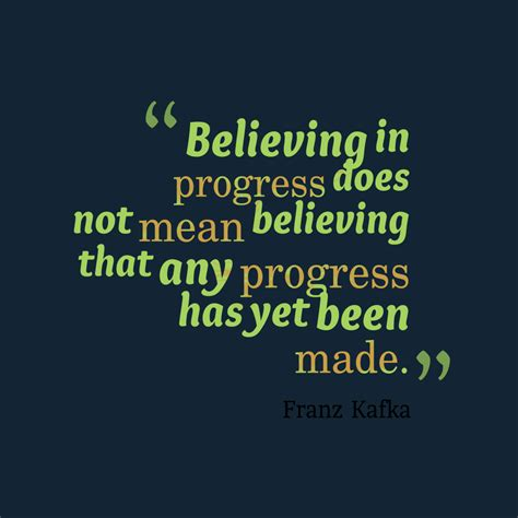 Picture Franz Kafka quote about progress. | QuotesCover.com