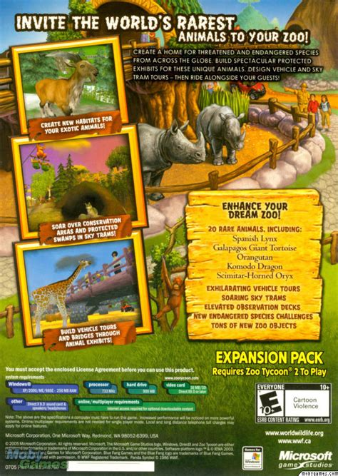 Picture of Zoo Tycoon 2: Endangered Species (Expansion)