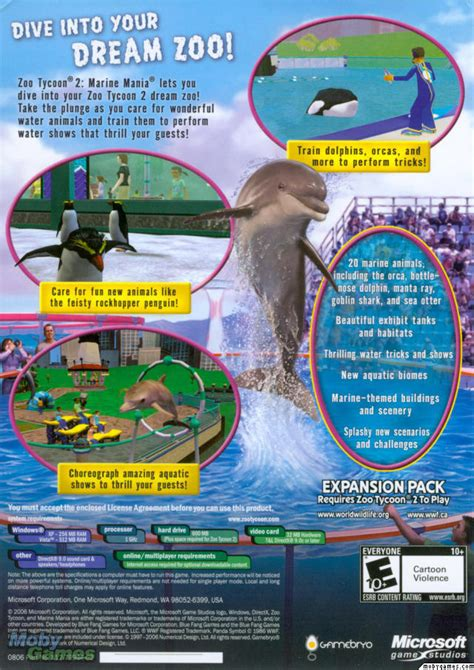 Picture of Zoo Tycoon 2: Marine Mania (Expansion)