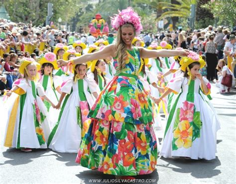 Pictures From Madeira Flower Festival